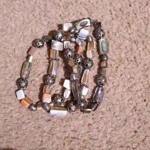 3 Matching Stretch Bracelets